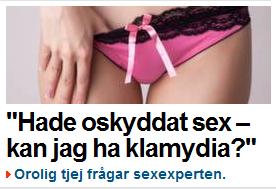 Oskyddat sex