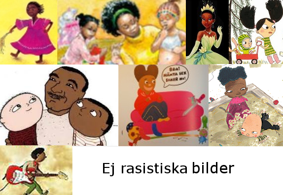 Ej rasistiska bilder