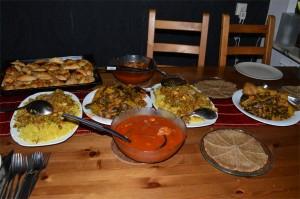 Irakisk mat tackar jag inte nej till!!
